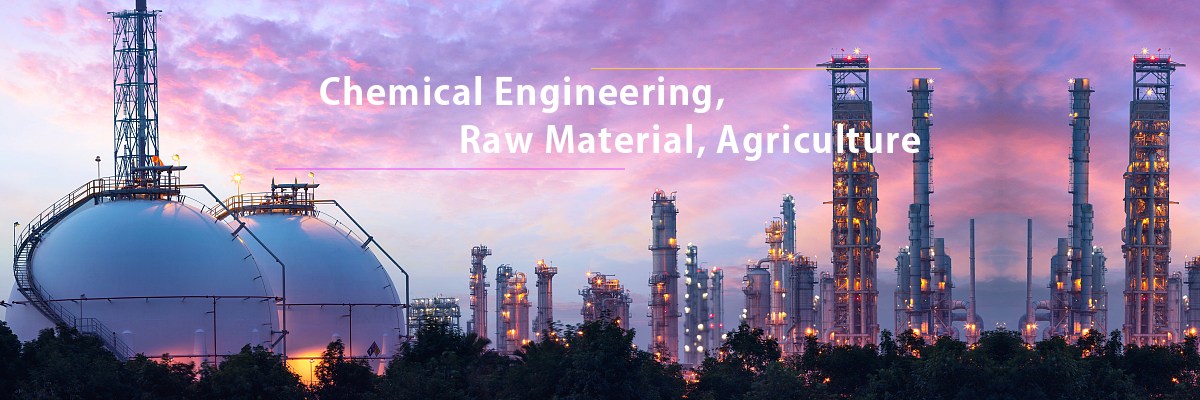 Chemical Engineering, Raw Material, Agriculture
