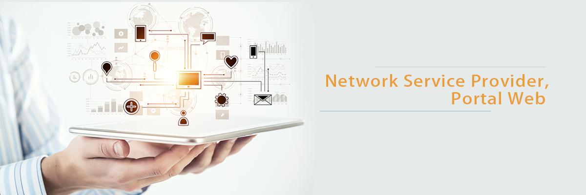 Network Service Provider, Portal Web
